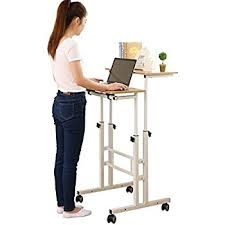 amazon com sdadi 2 inches carpet wheel mobile stand up desk
