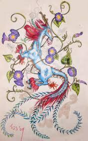 kirin tattoo wip by kungfubellydancer on deviantart