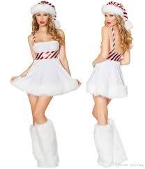 women santa christmas costume fancy dress xmas office cosplay
