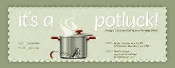 potluck invitation potluck evite