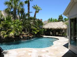 tropical backyard pool u2013 home design and decor