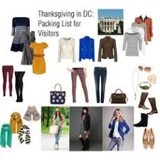 thanksgiving packing list 12 capsules and lists for stylish