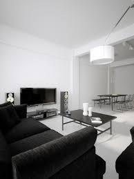 Modern Home Decor Magazines Modern Minimalist Black And White Lofts Idolza