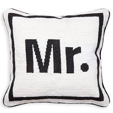mr needlepoint throw pillow 16 x 16 jonathan adler
