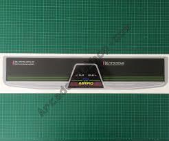 Sega Astro City Arcade Cabinet by Sega Astro City 2 Player Control Panel Overlay 2p Cpo Arcade