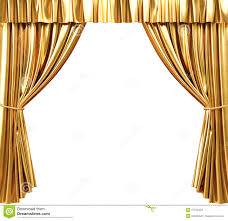 gold curtain background decorate the house with beautiful curtains