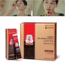 Minuman Ginseng Korea korean ginseng hong sam jung everytime cheong kwan jang 10ml x