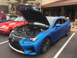 lexus sports car blue matte blue lexus rc f at scottsdale c u0026c autos