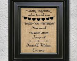 7 year wedding anniversary gift 7 year wedding anniversary wedding definition ideas
