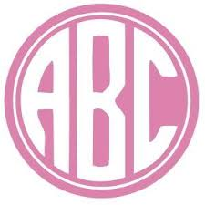 create monogram initials 68 free circle monograms enter your initials and you