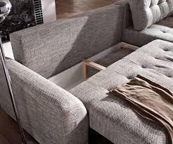 ecksofa jowa chesterfield couch mit samtbezug couch tania hellgrau 295x170 cm