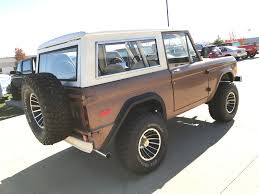 bronco jeep 2017 1973 ford bronco maxlider brothers customs