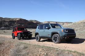 jeep trailhawk lifted 2015 jeep renegade proves to be a real jeep