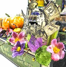 g45 halloween in wonderland tea with alice table decor kathy by