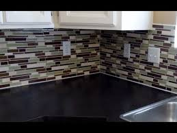 how to install a mosaic tile backsplash in the kitchen installing glass mosaic tile backsplash interior design ideas