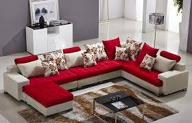 Modern Furniture Sofa Sets Lovely Fabric Sofa Set L Shape 1 Graceful Modern Design Corner 892