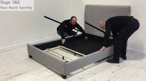 Tempur Ottoman Beds by Dreams Francis Manual Ottoman Bed Assembly Youtube