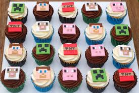 minecraft cupcakes minecraft cakes for the craze vanilla cakes