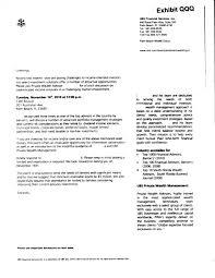 wealth management advisor cover letter