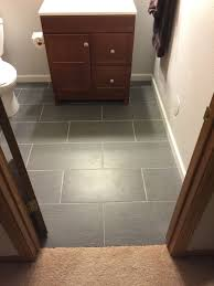 Where To Start Laying Laminate Flooring In A Room Flooring Can I Start And Stop A Tile Floor Job Home