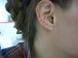 how to make feather ear cuffs ear cuffs the feather forge