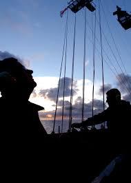 Flag Hoist Signaling File Us Navy 041025 N 5345w 023 Quartermasters Aboard The Nimitz