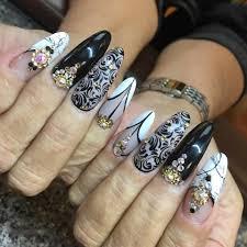 fine touch nails salon home facebook