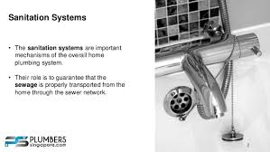 Home Plumbing System Repairing Sanitary Plumbing Systems