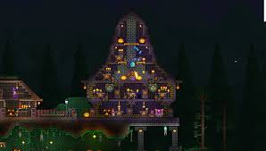 Halloween Event Terraria Mobile by This Is My Halloween House I Think It Looks Amazing Terraria