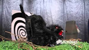 sound activated animated cat shindigz halloween decorations