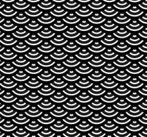 japanese pattern black and white fish scales free vector art 2193 free downloads
