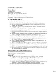 electrician resume exles apprentice electrician resume sle electrical cv smart besides