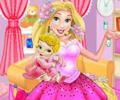 Barbie Room Game - sweet baby bed room game online play rapunzel games
