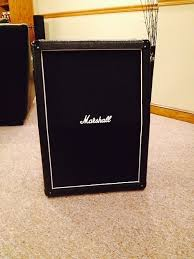 2x12 Guitar Cabinet Marshall Mx212a 2x12 Vertical Guitar Cabinet Reverb