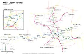 Brussels Metro Map by Metro Map Of Charleroi Metro Maps Of Belgium New Zone