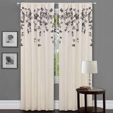 Ruffled Curtains Nursery by Curtains Purple Curtains Nursery Best Blackout For Window