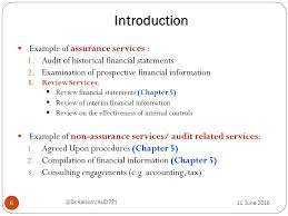 agreed upon procedures report template chapter 5 audit related services ppt