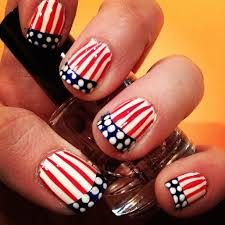 4th july special patriotic nail art for americans u2013 young craze