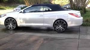 toyota camry solara 1st solara convertible on 22 u0027s youtube