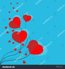 vector balloon shape card rainbow stock vector 476981695