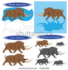 woolly rhinoceros stock images royalty free images u0026 vectors