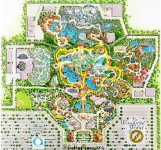 Gurnee Mills Map Image Of Water Park Map With Numbered Points On Locations That
