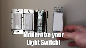 how to replace a light switch with a dimmer how to replace and update your light switch youtube