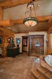 Cabin Bathrooms Ideas by Exellent Bathroom Ideas Log Homes Cabin Logs In Decorating