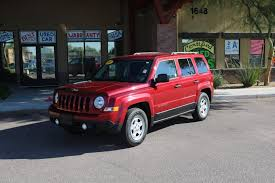 certified pre owned 2016 jeep patriot sport sport utility in mesa