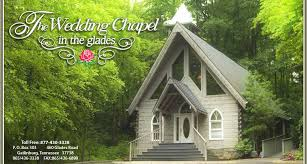 wedding chapels in pigeon forge tn the wedding chapel in the glades weddings in