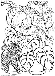 Rainbow Brite Color Page Coloring Pages For Kids Cartoon 80s Coloring Pages