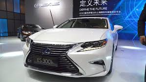 lexus es model years 2016 lexus es 350 to built in kentucky by end of the year auto