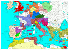 Current Map Of Europe Current Maps
