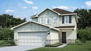 Garage With Inlaw Suite by Quick Move In Homes Austin Tx New Homes From Calatlantic
